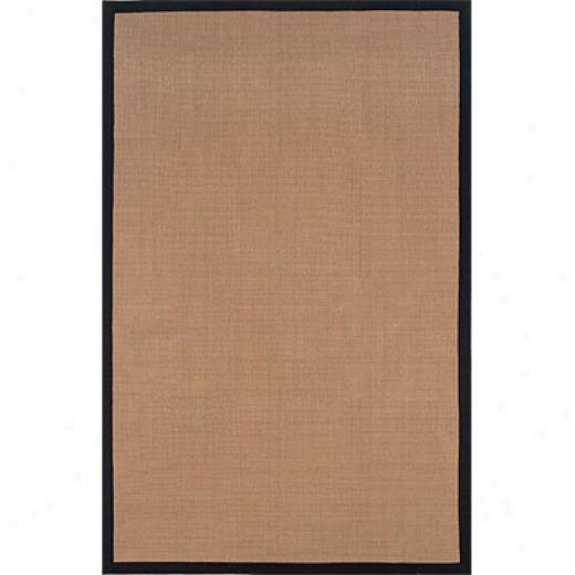 Hellenic Rug Imports, Inc. Jute 10 X 13 Blacl Area Rugs