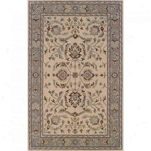 Hellenic Rug Imports , Inc. Wonders Of The World 4 X 6 American Classics Beigr Area Rugs