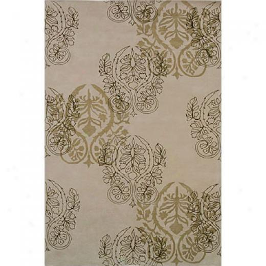 Grecian Rug Imports, Inc. City Trends 5 X 8 Medallion Ivor Area Rugs