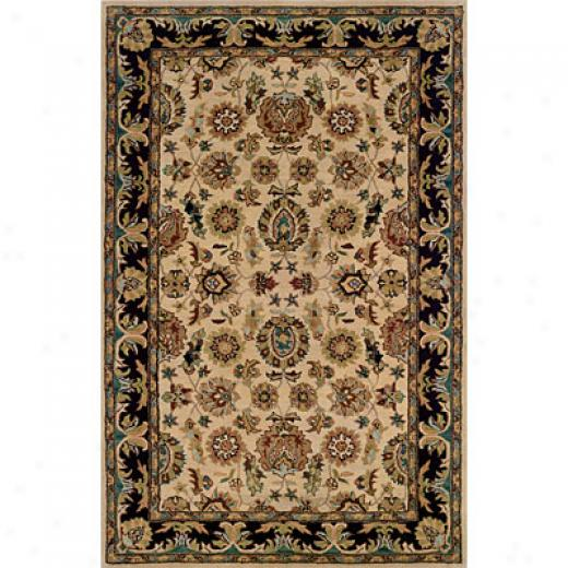 Hellenic Rug Imports, Inc. Wonders Of The World 4 X 6 Kasmir Camel Area Rugs