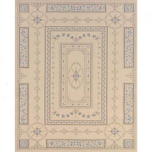 Hellenic Rug Impotts, Inc. Tapestry 4 X 6 Marseilles Cream Area Rugs