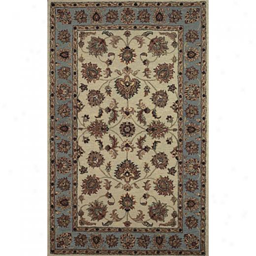 Hellenic Rug Imports, Inc. Twisted Wonders 8 X 10 Bingham Ivory Area Rugs