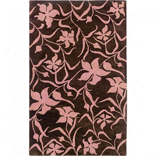 Hellenic Rug Imports, Inc. Palermo 1 X 2 Fielded Chocolate Area Rugs