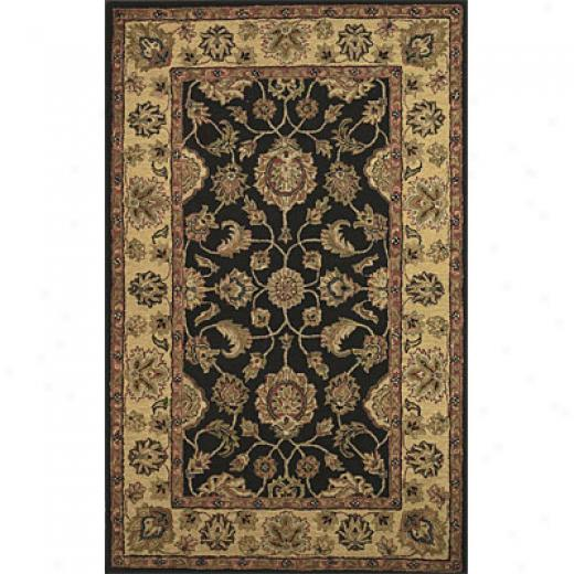 Hellenic Rug Imports, Inc. Twisted Wonders 8 X 10 Kingly Black Area Rugs