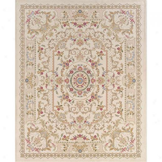 Hellenic Rug Imports, Inc. Tapestry 4 X 6 Versailles Ivory Area Rugs