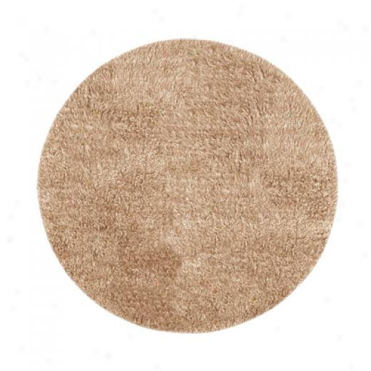 Hellenic Rug Imports, Inc. New Flokati 10 Round Tan Area Rugs