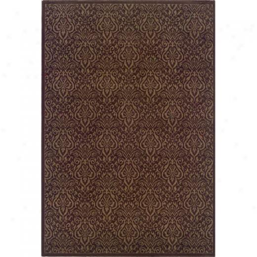 Hellenic Rug Imports, Inc. Magic 5 X 8 Picadilly Chocolate Area Rugs