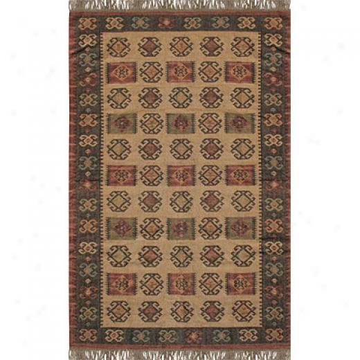 Hellenic Rug Imports, Inc. Antiuqe Kilim 5 X 8 Sierra Madre Honey Gold Area Rugs