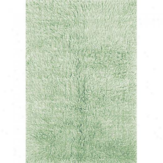 Hellenic Rug Imports, Inc. 3a Flokati 10 X 14 Pastel Gree Area Rugs