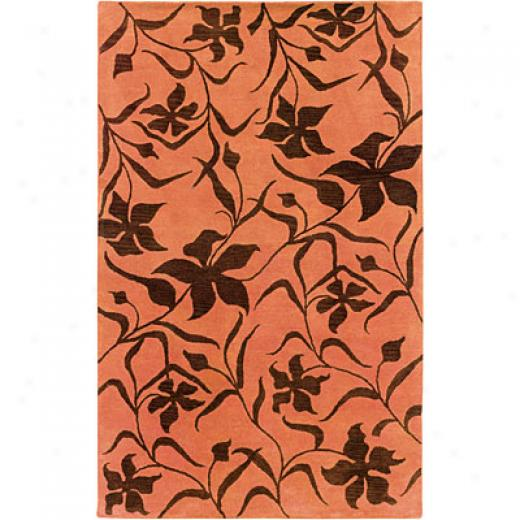 Hellenic Rug Imports, Inc. Palermo 1 X 2 Fielded Pumpkin Area Rugs