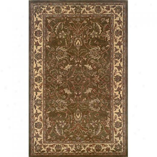 Hellenic Rug Imports, Inc. Wonders Of The World 2 X 8 Antique Japur Brown Toned Area Rugs