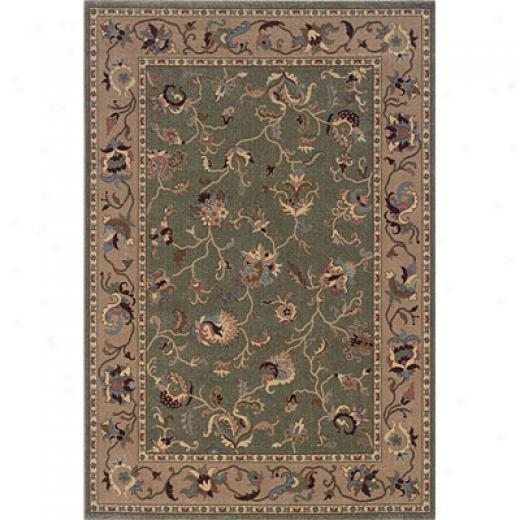 Hellenic Rug Imports, Inc. Magic 5 X 8 Hampton Celadon Area Rugs