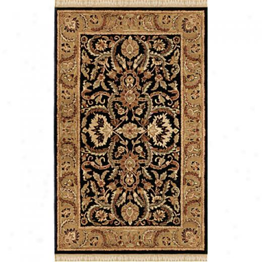 Hellenic Rug Imports, Inc. Wondrse Of The World 4 X 6 Sheran Black Area Rugs