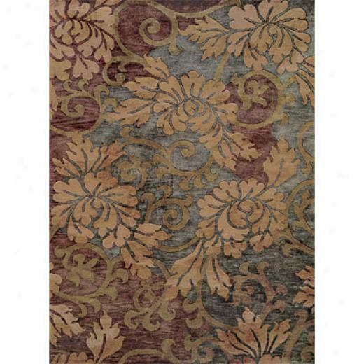 Hellenic Rug Imports, Inc. Essential Nature 6 X 8 Scenery Slate Area Rugs