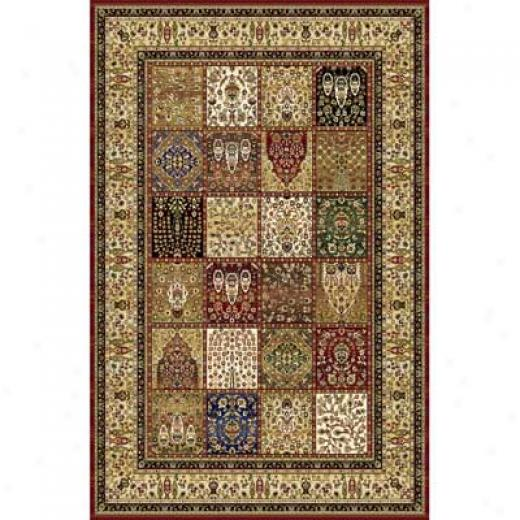 Home Dynamix Cross Woven Legends 8 X 11 Red 6516 Area Rugs