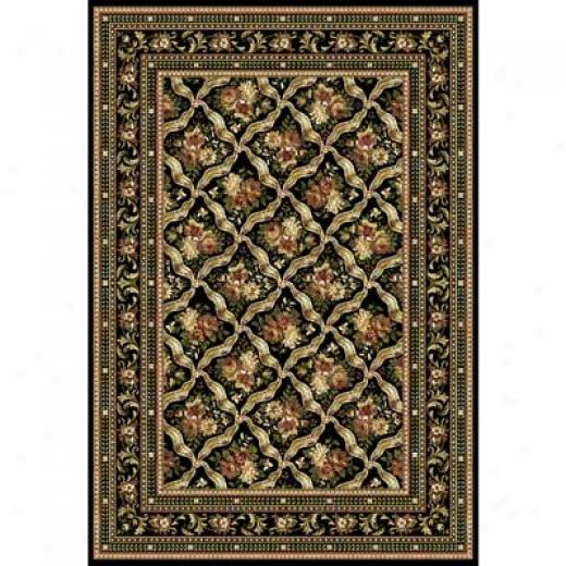 Home Dynamix Cross Woven Legends 8 X 11 Black 6514 Area Rugs