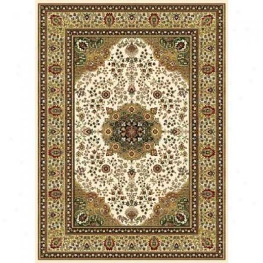 Home Dynamix Cross Woven Legends 5 X 8 Ivory 6506 Area Rugs