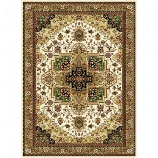 Home Dynamix Cross Woven Legends 8 X 11 Ivory 6507 Area Rugs