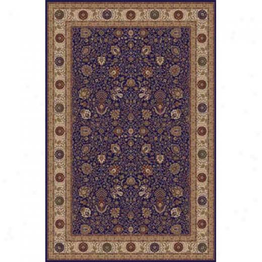 Home Dynamix Crown Jewel 5 X 8 Navy Area Rugs