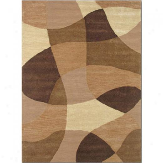 Home Dynamix Escapades 8 X 11 Earth Herringbone Area Rugs