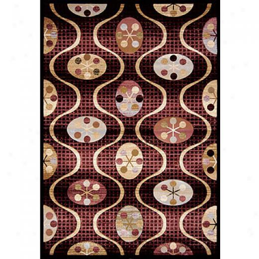 Home Dynamix Evolution 5 X 8 Black 5339 Area Rugs