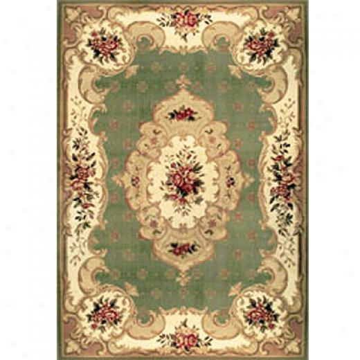 Home Dynamix Heirloom 2 X 5 Runner Light Verdant Area Rugs