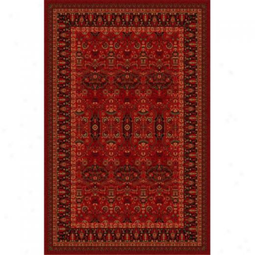 Home Dynamix Monaco 5 X 8 Red 2237 Area Rugs