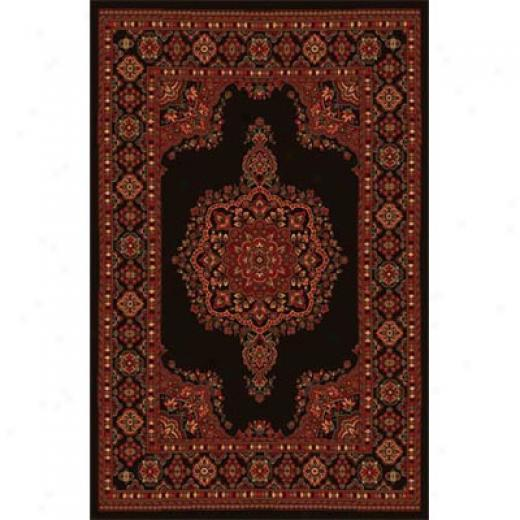 Close Dynamix Monaco 5 X 8 Black 2771 Area Rugs