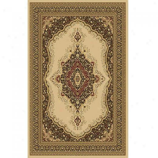 Home Dynamix Monarchy 5 X 8 Ivory 7725 Area Rugs