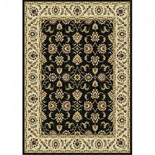 Home Dynamix Natalie 2 X 7 Runner Black 7534 Area Rugs