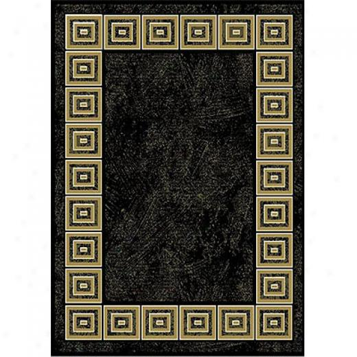 Home Dynamix Natalie 2 X 7 Runner Black 7312 Area Rugs