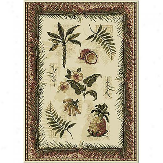 Close Dynamix Natalie 8 X 10 Ivory 7601 Area Rugs