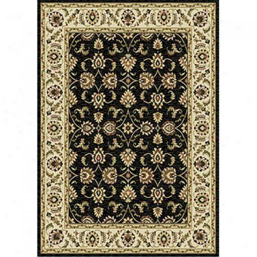 Home Dynamix Natalie 8 X 10 Black 7534 Area Rugs