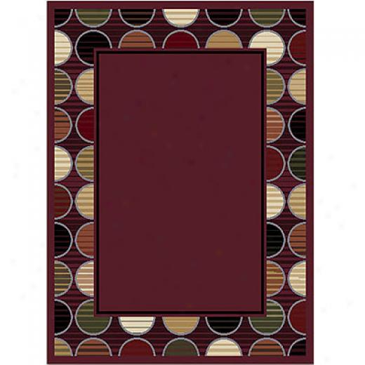 Home Dynamix New Generation 5 X 7 Purple Area Rugs