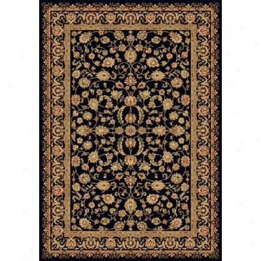 Homr Dynamix Nobility 4 X 6 Black 2552 Area Rugs