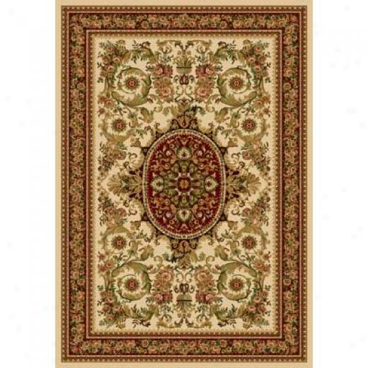 Home Dynamix Nobility 5 X 8 Ivory 2548 Area Rugs
