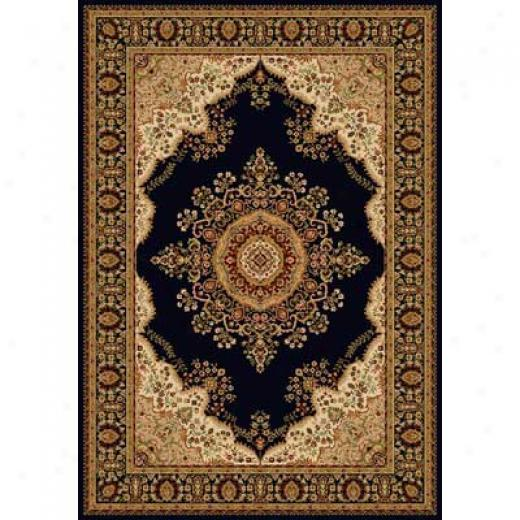Home Dynamix Nobility 8 X 11 Black 2548 Area Rugs
