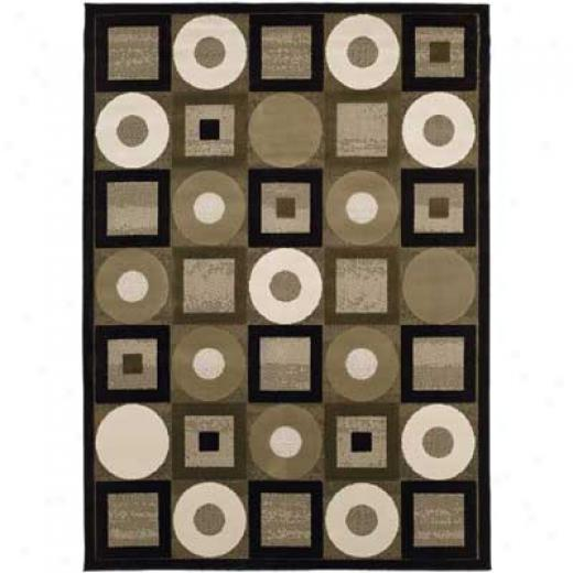 Home Dynamix Pinnacle 2 X 8 Ivory/green C059 Area Rugs