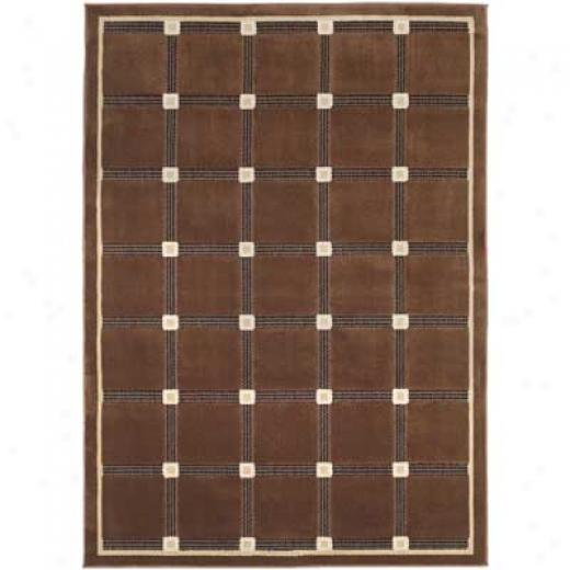 Home Dynamix Pinnacle 8 X 10 Brown/black C020 rAa Rugs