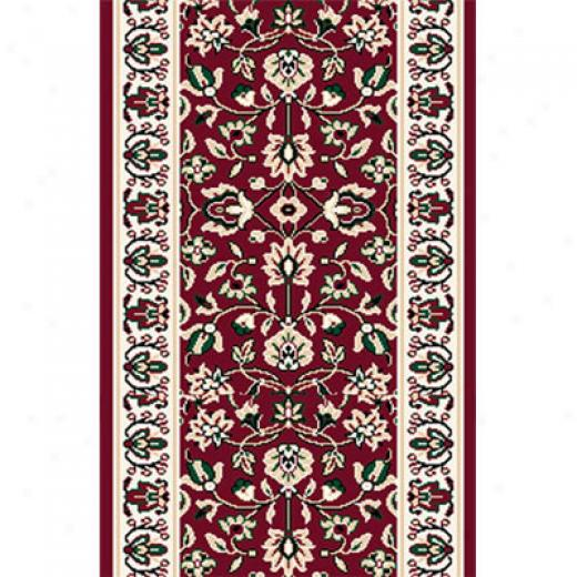 Home Dynamix Reward 2 X 8 Runner Claret 7012 Atea Rugs