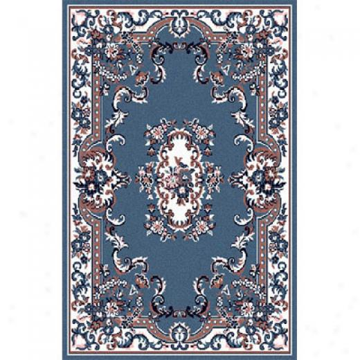 Home Dynamix Premium 2 X 3 Cohntry Blue 7083 Area Rugs