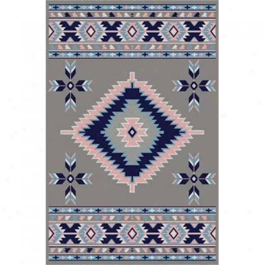 Home Dynamix Premimu 2 X 7 Silver 7019 Area Rugs