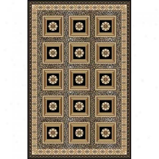 Home Dynamix Regency 2 X 4 Black 8524 Area Rugs