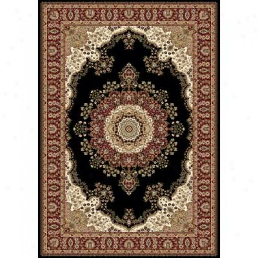 Home Dynamix Regency 4 X 5 Black 8329 Area Rugs