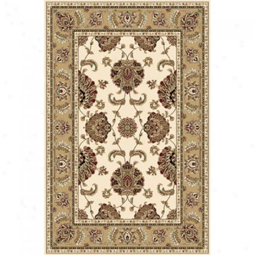 Home Dynamix Regency 8 X 10 Gold 8305 Area Rugs