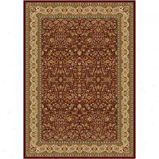 Home Dynamix Regency 9 X 12 Red 8302 Area Rugs