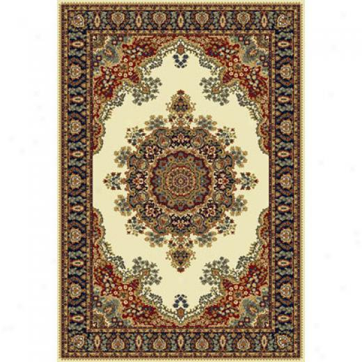 Home Dynamix Royalty 2 X 3 Ivory 41033 Area Rugs