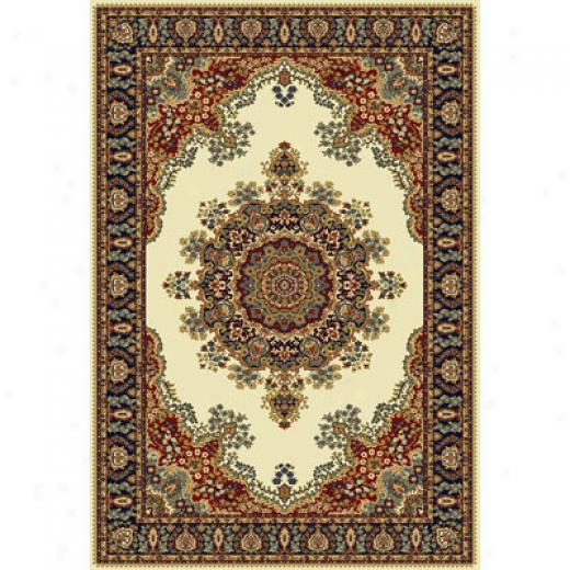 Home Dynamix Royalty 4 X 5 Ivory 41033 Area Rugs