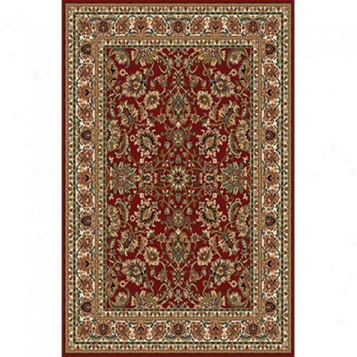 Home Dynamix Royalty 8 X 11 Red 8079 Area Rugs