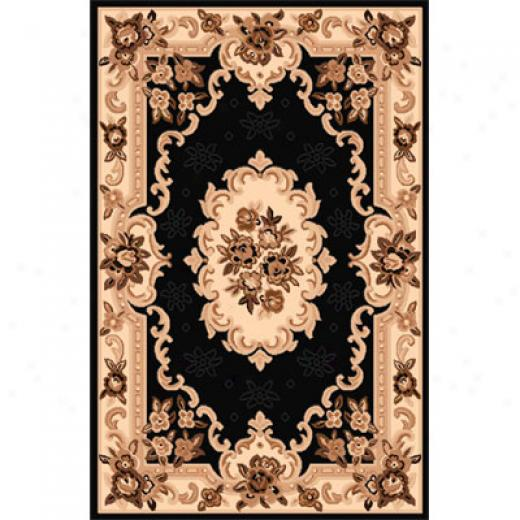 Home Dynamix Sing 2 X 7 Runner Black 792 Area Rugs
